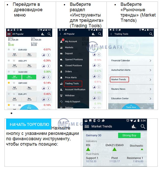 Форекс стратегии для мобильного терминала